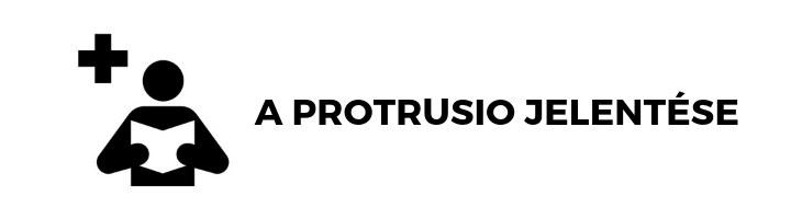 a protrusio jelentése